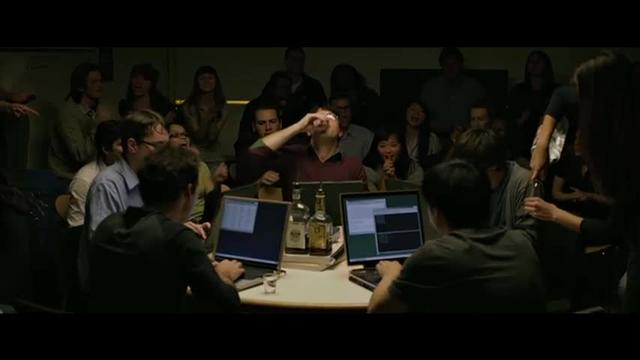 Hacking competition in The Social Network