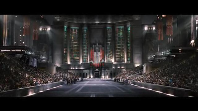 Fascist iconography in The Hunger Games