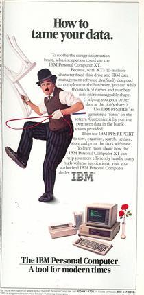 IBM Modern Times ad