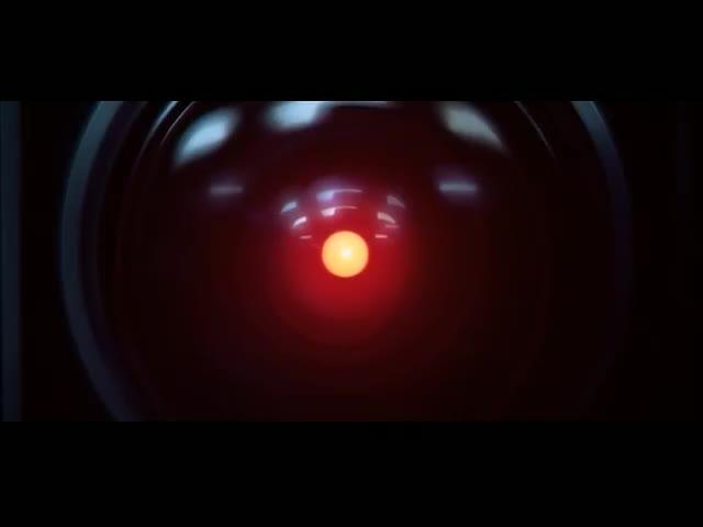 The HAL 9000 computer quietly terminates life support systems in 2001