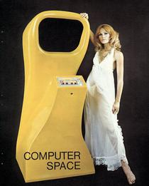 Magazine advertisement for Computer Space arcade game