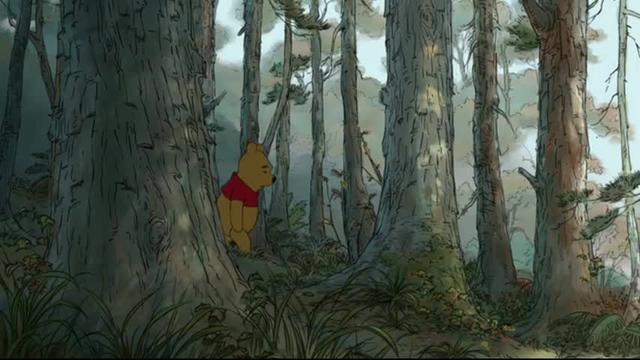 Winnie the Pooh text treatment 3