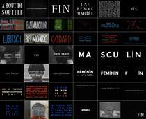 Godard's typography