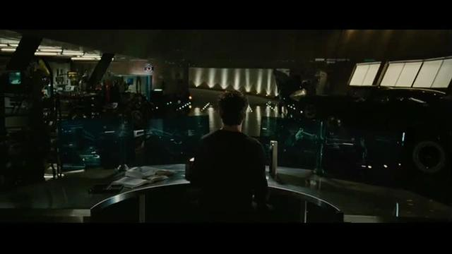 Tony Stark treats his robots and AI computer interface like domestic pets in Iron Man 2
