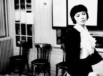Animated GIF sequence from Godard's Vivre Sa Vie