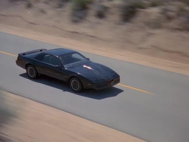 Knight Rider didactic ending