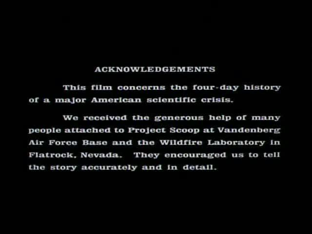 The Andromeda Strain title sequence