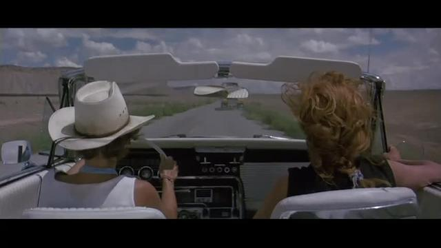 Thelma and Louise trucker revenge scene