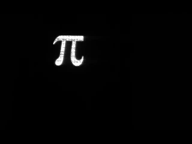 Pi opening title design