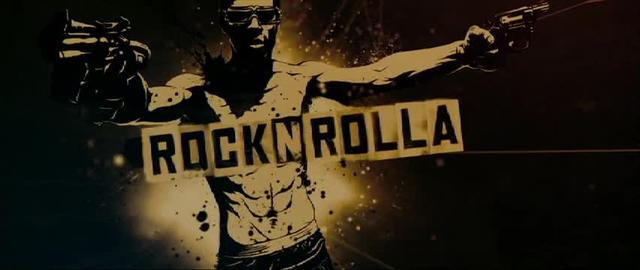 Rock N Rolla title sequence