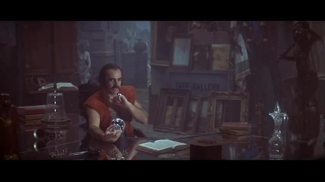 A human savage penetrates the secrets of artificial intelligence in Zardoz