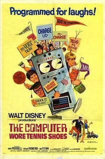 Movie poster for The Computer Wore Tennis Shoes