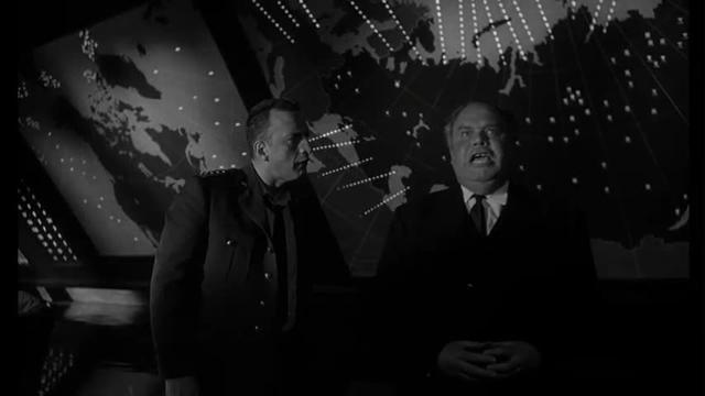 The Doomsday device epitomizes Cold War madness in Dr. Strangelove