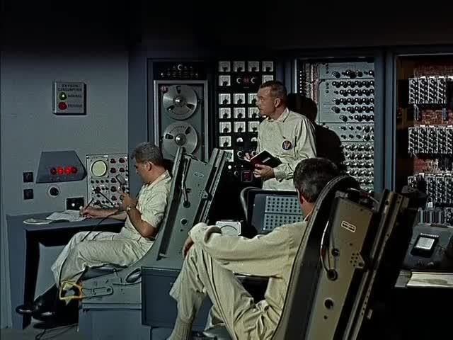 Burroughs supercomputer product placement montage from Angry Red Planet