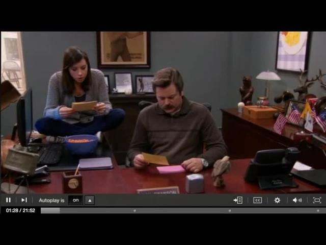 Mulvey & Women's Studies on Parks & Rec