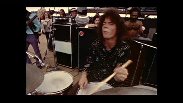 Santana Soul Sacrifice montage from Woodstock documentary
