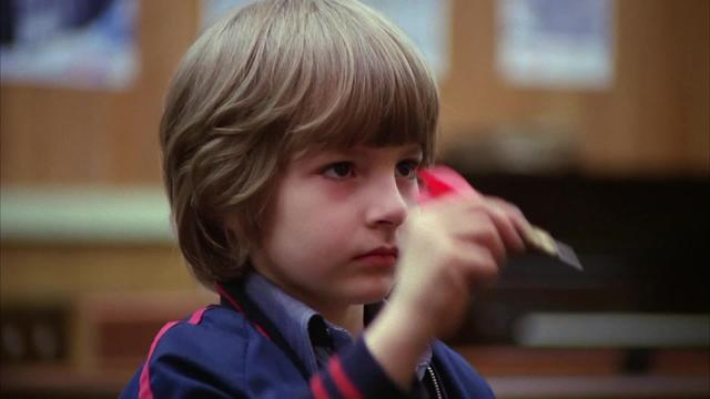 Shining, The (Kubrick, 1980) — Danny First Sees the Twins