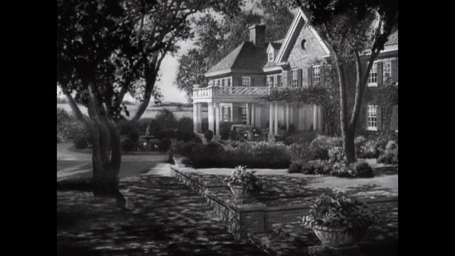 Philadelphia Story, The (Cukor, 1940) — Wordless Opening