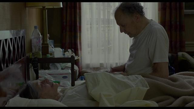 Amour (Haneke, 2012) — Georges Smothers Anne, Then Copes