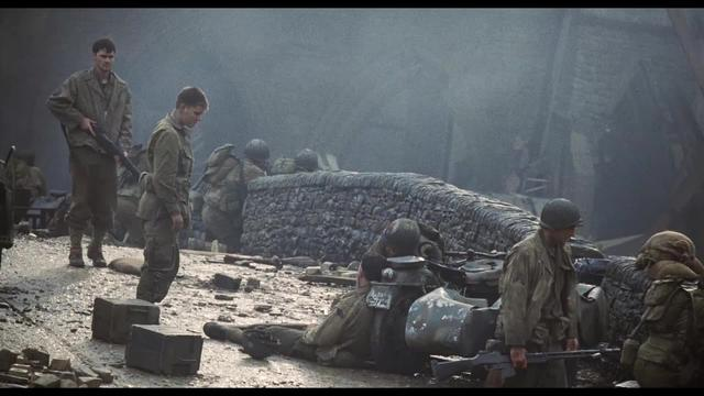 Saving Private Ryan (Spielberg, 1998) — Matt Damon Ages