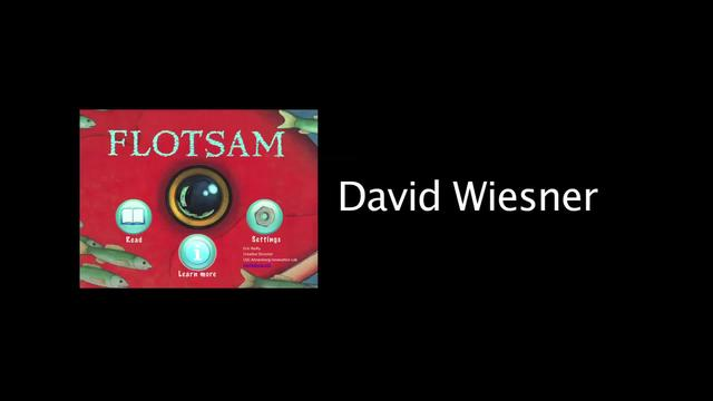 David Wiesner discusses inspiration for images in Flotsam