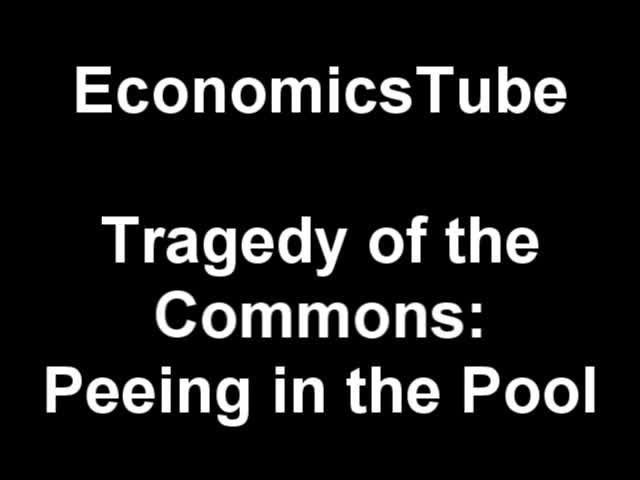Tragedy of the Commons on South Park - Peeing in the Pool