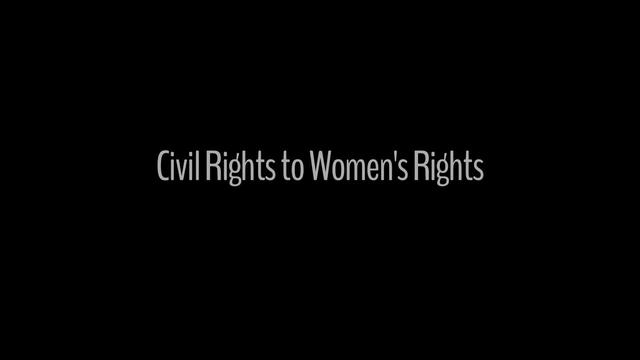 Civil Rights to Women's Rights