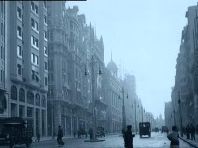 Gran Vía - ocio urbano en los 1920