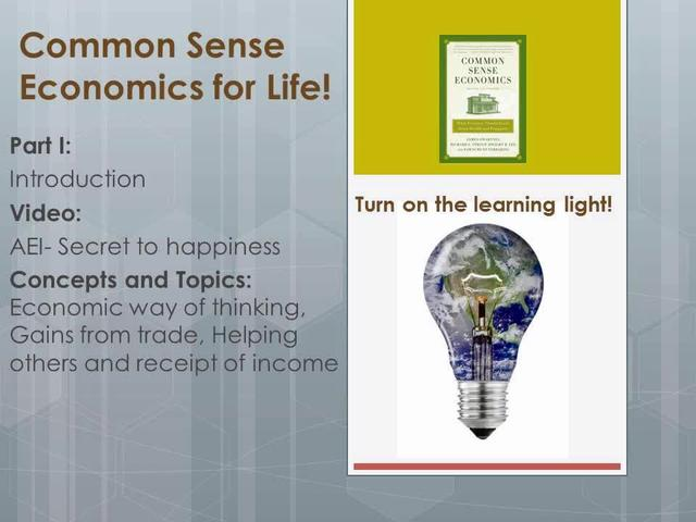 CSE Intro AEI- Secret to happiness