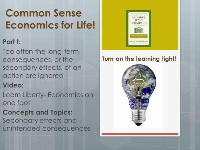 CSE 1.12 Learn Liberty- Economics on one foot