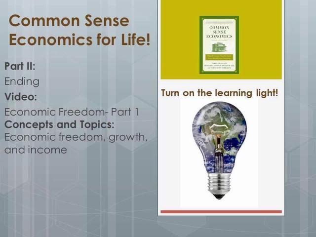 CSE 2 End- Economic Freedom- Part 1