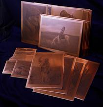 Edward S. Curtis Copper Plates