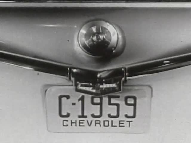 Editing Exercise Using 1959 Chevrolet Commercial: Variation 4