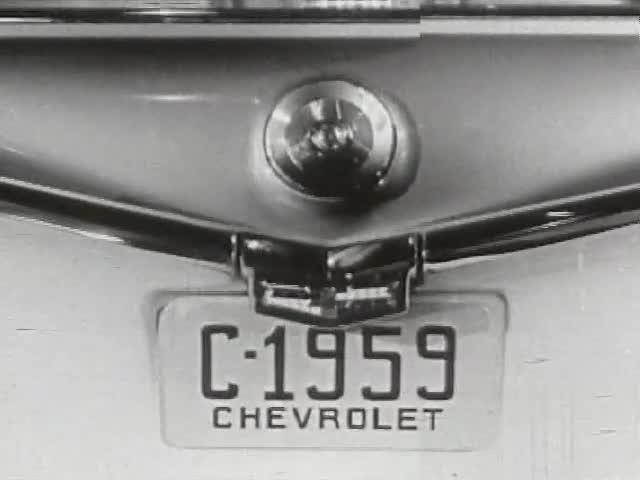 Editing Exercise Using 1959 Chevrolet Commercial: Variation 6