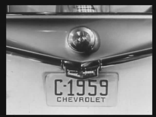 Editing Exercise Using 1959 Chevrolet Commercial: Original