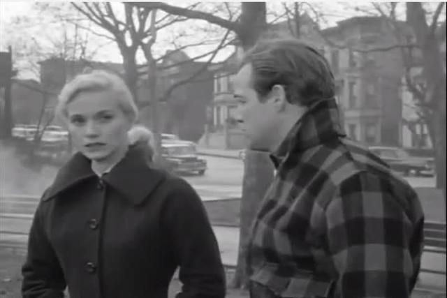 Kazan on Brando in On the Waterfront glove scene