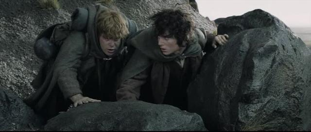 Lord of Rings - Frodo and Sam - JK