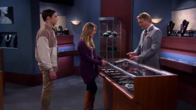 Big Bang Theory -- Sale on Jewelry