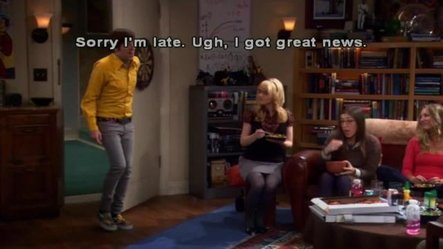 Big Bang Theory -- Guessing a Name