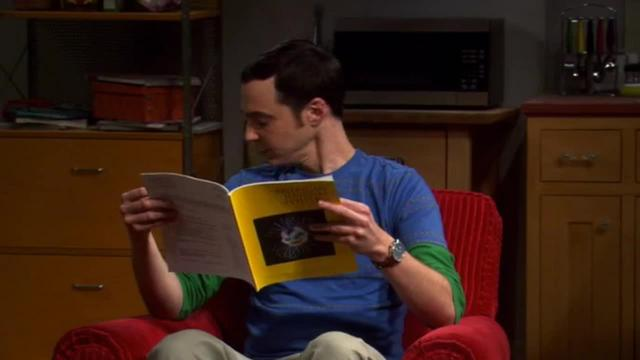Big Bang Theory -- The Chair from Outside
