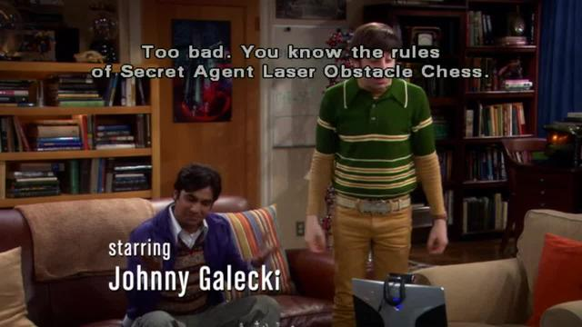 The Big Bang Theory -- Property Rights