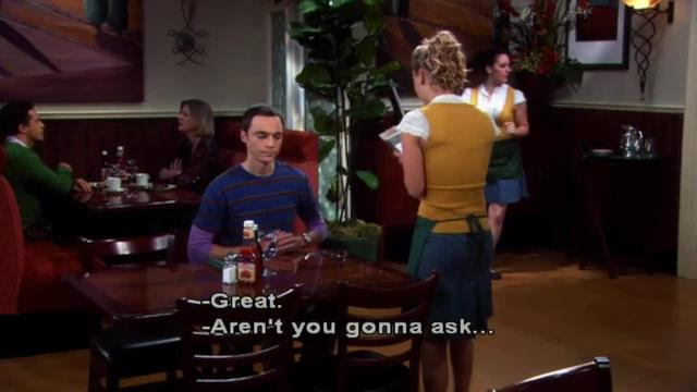 The Big Bang Theory -- Negative Externalities of a Fight