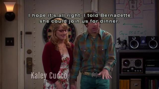 The Big Bang Theory -- Diminishing Marginal Utility