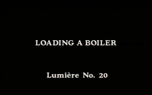 Loading a Boiler - Lumière Film #20 (1896)