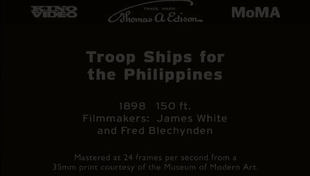 Troop Ships for the Philippines (1898)