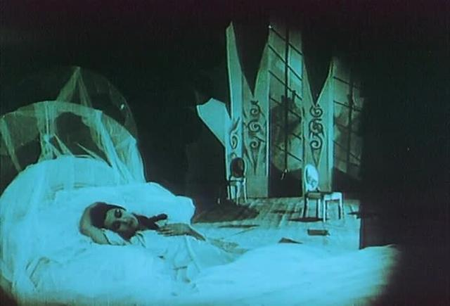 The Cabinet of Dr. Caligari (1920) - Cesare Abducts Jane