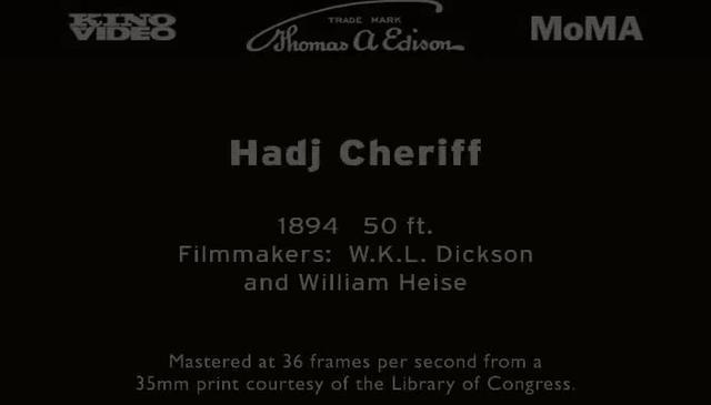 Hadj Cheriff (1894)