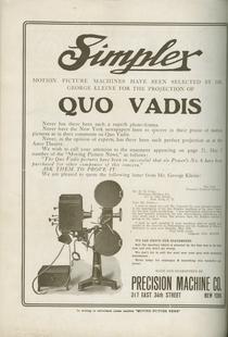 Simplex Advertisement (1913)