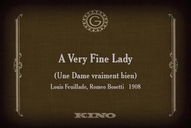 A Very Fine Lady (1908)