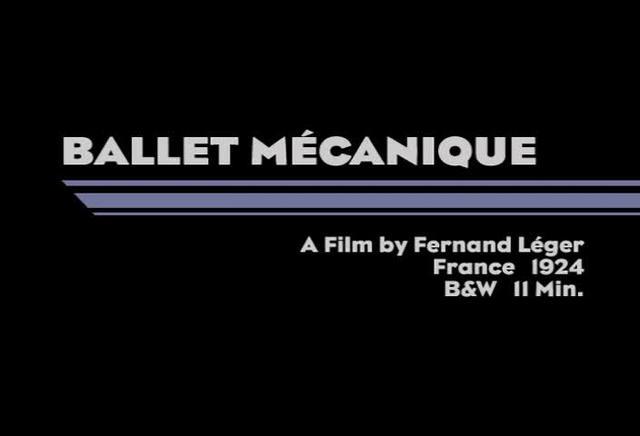 Ballet Mécanique (1924)